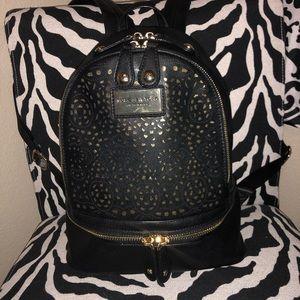 NWOT Andrew Marc New York backpack black leather